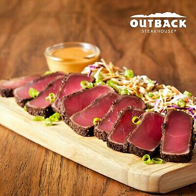 """Outback Steakhouse $20 """"Tuck Away"""" Card"""