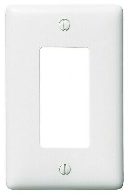 Hubbell NP26W Decorator Face Plate, 1 Gang, White - Lot of 3 Face Plates - NEW