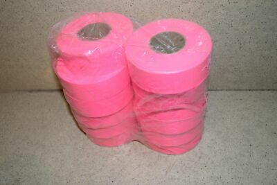 ^^ Flagging Survey Tape Pink Glo 12 Rolls - New (Y1)