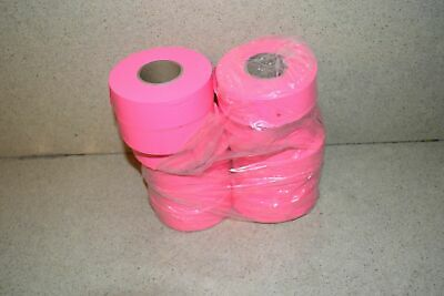 ^^ Flagging Survey Tape Pink Glo 12 Rolls - New (Q1)