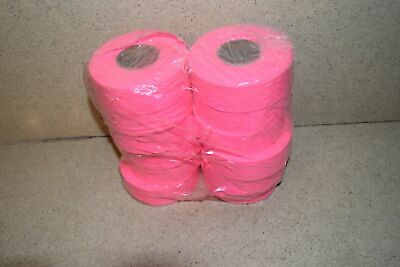 ^^ Flagging Survey Tape Pink Glo 12 Rolls - New (S1)