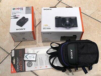 Sony Cyber-shot DSC-HX99 4K Digital Camera w/ screen protect/case/charger Bundle