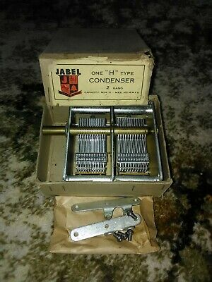 Vintage JABEL Radio Variable Capacitor.