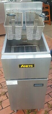 Anets Silverline SLG40 Natural GAS Deep fryer 20L