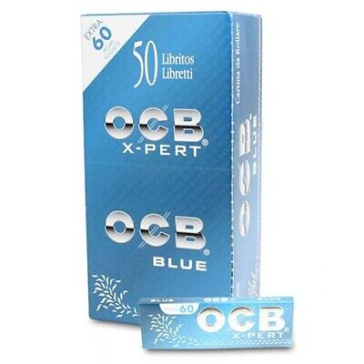 OCB Blue X-Pert Rolling Paper Slow Combustion- 3000 Papers Full Box