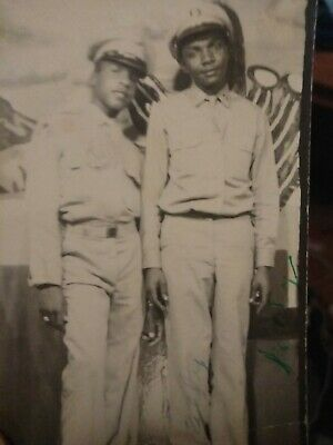 African American soldiers Photo booth Photo