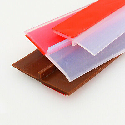 25MM Self-Adhesive Window Door Bottom Weather Stripping Silicone Rubber Sealing