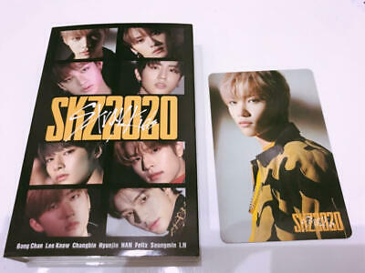 STRAY KIDS SKZ2020 CASSETTE TAPE + PHOTO CARD LIMITED JAPAN straykids