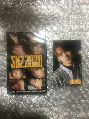 STRAY KIDS SKZ2020 CASSETTE TAPE + PHOTO CARD JAPAN straykids photocard Leeknow