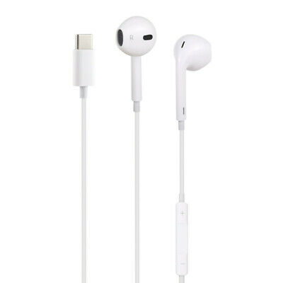 Écouteurs Intra-Auriculaire Prise Type-C Blanc Huawei/Samsung