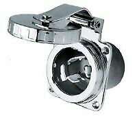 Hubbell HBL504SS SS Inlet 50A 125/250V