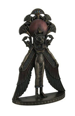 Sekhmet Winged Egyptian Warrior Goddess Wall Art Statue