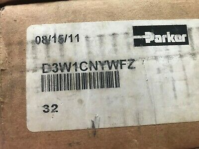 Parker  D3W1Cnywfz Directional Control Valve - New In Box
