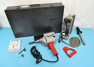 Wheeler Rex 3092 Hole Pipe Cutter System w/ Milwaukee Drill & Tool Kit Plumbing