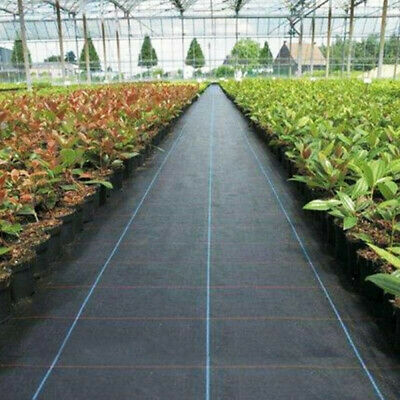 Weed Barrier Fabric Woven Earthmat Ground Cover Landscape Heavy-Duty 2020