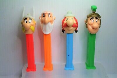 Selection of 4 Asterix the Gaul Characters - Pez Dispensers