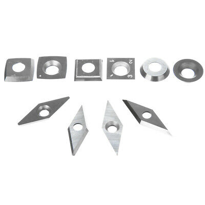Carbide Inserts Silver Diamond Cemented Cutter Bit Woodworking Cutting