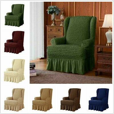 STRETCH PROTECTOR WINGBACK Slipcover Recliner Wing Arm Chair