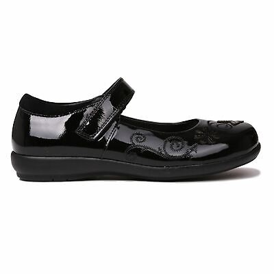 Kangol Ribston Shoes Childs Girls Black/Patent Kids Footwwear