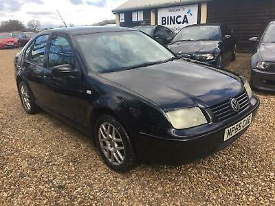 VOLKSWAGEN BORA TDi PD 130 Highline 2005 Diesel Manual in Black
