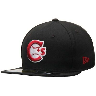 New Era Vancouver Canadians Black Authentic 59FIFTY Fitted Hat