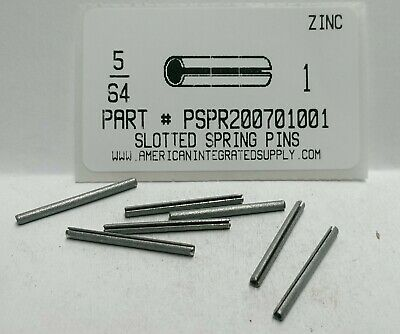 "5/64X1"" Slotted Spring Pin Steel Zinc Plated (40)"