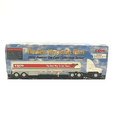 Exxon The Best Way To Get There 2000 Premier Die Cast Collectable Tanker