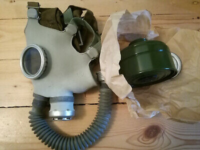 Soviet Russian USSR Gas Mask PDF-7.  Chemical nuclear protection.