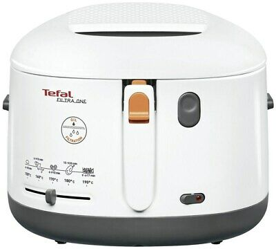 Tefal FF1631 One Filtra Fritteuse weiss/anthrazit (Friteuse)