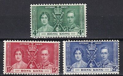 Hong Kong 1937 Coronation mint hinged