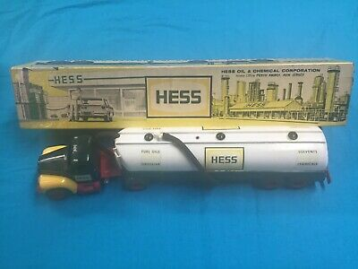 1964 Hess Truck in Box with Funnel, insert and card