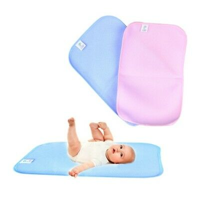 Infant Bamboo Fiber Baby Changing Mat New Cover Stylish Washable Diaper Nappy