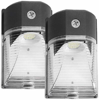 (2 Pack ) LED Wall Pack Light, 26W 3000lm 5000K Dusk-to-Dawn Photocell