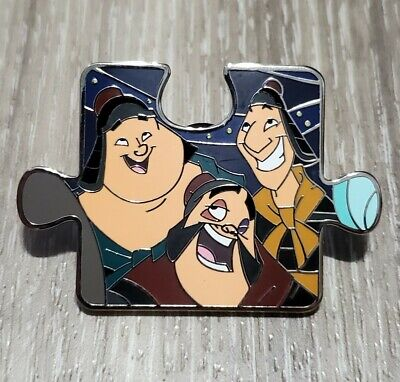 Disney Mulan Mystery Character Connection Puzzle Pin Ling Yao Chien Po 25 00 Picclick