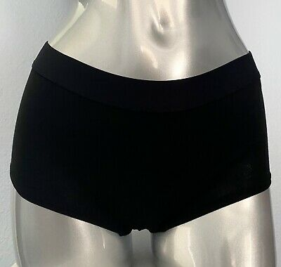 Victorias Secret Nwt Sexy Black Cotton Blend Band Shortie Panty