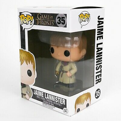 Funko Pop Game of Thrones #35 Jaime Lannister Gold + Protector Vaulted Retired