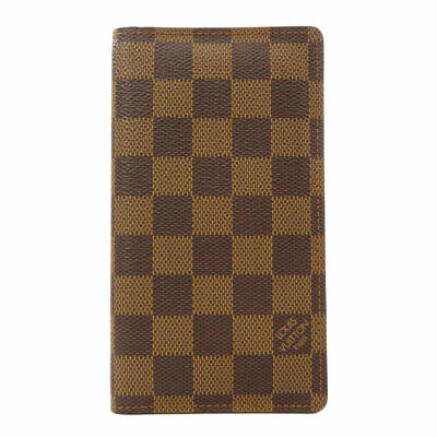 LOUIS VUITTON  R20703 Notebook Cabas Agenda Posh Damier Ebene Damier canvas