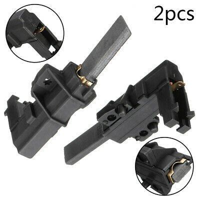 2Pcs/set Washing Machine Motor Carbon Brushes Replacement For Hoover Candy Aeg