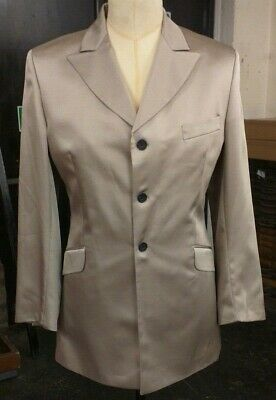 Limehaus Light Tan Shinny 2P suit Suit Size 40 Trs 32