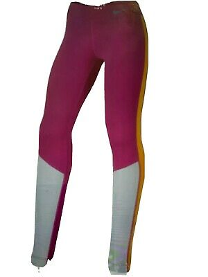 Nike Girls Sport Leggings Trophy Pink Size L 12 13 Years BNWT