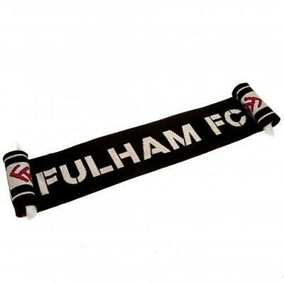 Official Fulham FC Football Fan Supporter Scarf Gift