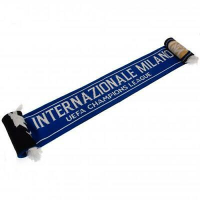 Official Inter Milan UEFA Italy Football Fan Supporter Shirt Scarf Gift