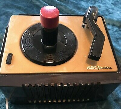 Vintage RCA VICTOR EY-2 45 RPM Record Player Phonograph