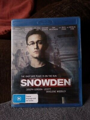 Snowden    Blu Ray   Region B  New And  Unsealed  Cheapest On Ebay Free Postage