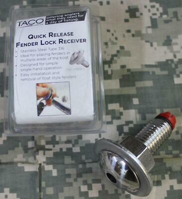 F16-0151R-1 TACO Quick Release Fender Lock Receiver Only