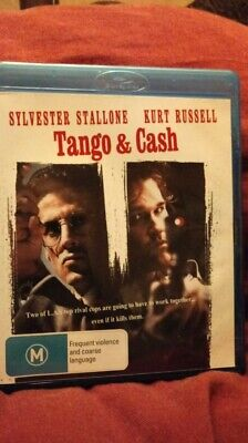 Tango and Cash - Blu-ray Region B  NEW/UNSEALED FREE POSTAGE