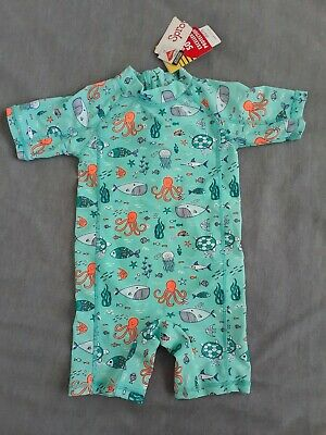 NEW Sprout Baby Boy Size 2 Swim Suit Swimwear Rashie Summer Pool Water