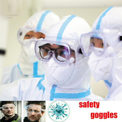 Medical Safety Goggles Glasses Anti Fog Lens Work Lab Protective Chemical
