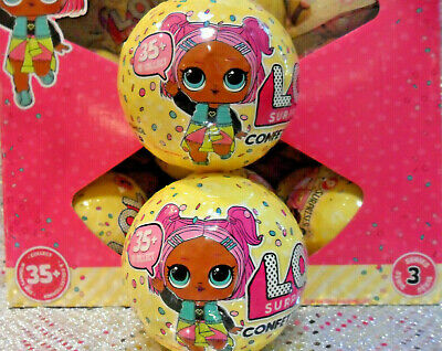 "1 NEW MGA LOL SURPRISE DOLL ""CONFETTI POP SERIES 3""~ Combine Shipping Cost Avail"