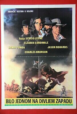 Once upon a time in the west Henry Fonda 1968 poster print #9